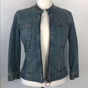 Calvin Klein Jackets & Coats - Calvin Klein   Acid Wash Denim Jacket